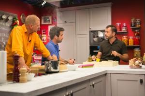 """Toujours drôle et didactique dans """"Un Gars un chef"""" sur la RTBF (photo@Martin Godfroid)"""