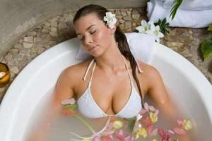 Un bain minceur aux huiles essentielles