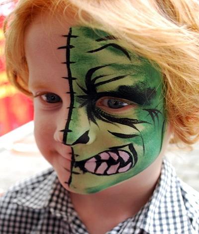 Maquillage pour enfants au naturel c 39 est possible - Maquillage halloween facile enfant ...