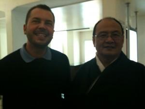 L'Ambassadeur du Bhoutan à Bruxelles et moi