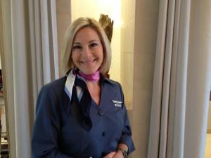 Marie-Claude L., hôtesse sur slow cosmétique airlines ;-)