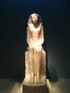 La magnifique Reine Hatchepsout, mi-femme mi-homme mi-Dieu :-)