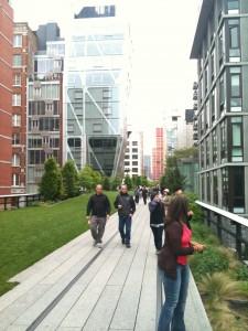 Une belle promenade de verdure en plein New York, la High Line