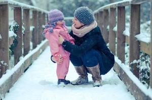 Une famille au top en hiver, c'est possible !