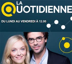 Je rejoins La Quotidienne sur France 5 ! Animée par Thomas et Maya !