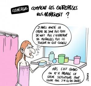 La Slow Cosmétique, version caricaturisme ;-)