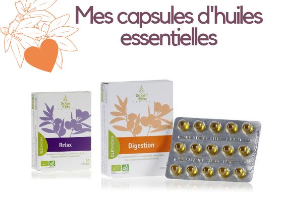 capsules huiles essentielles