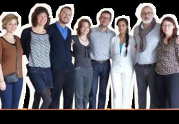 Une partie de l'équipe de la Slow Cosmétique en 2015