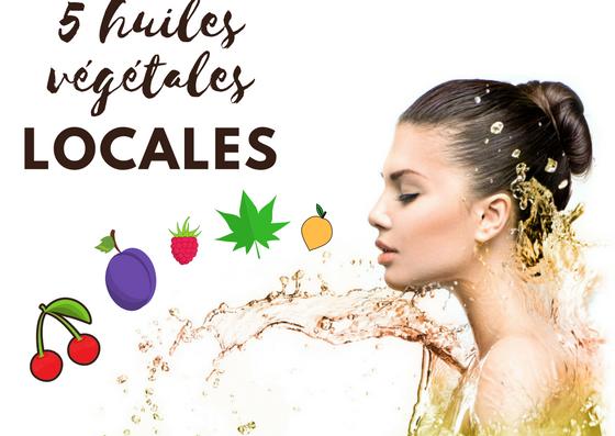 huiles vegetales locales