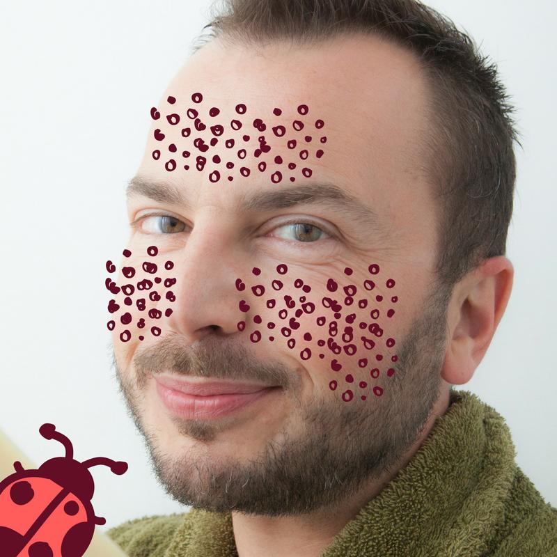 Julien Kaibeck gommage visage