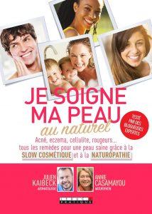 livre dermatologie naturel