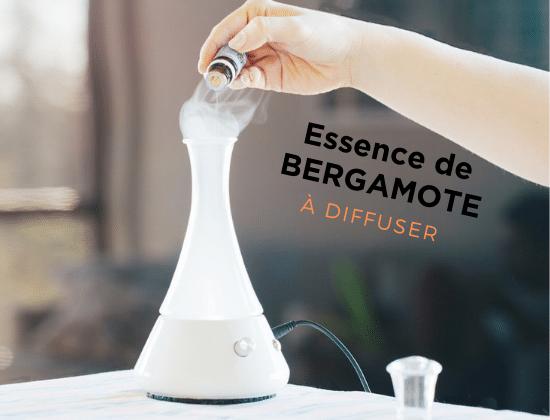 diffusion d'huile essentielle de bergamote