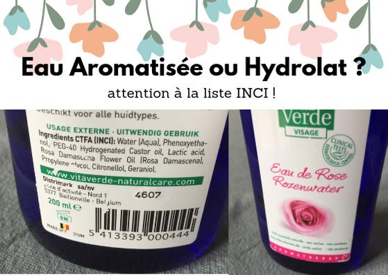 hydrolat faux bio
