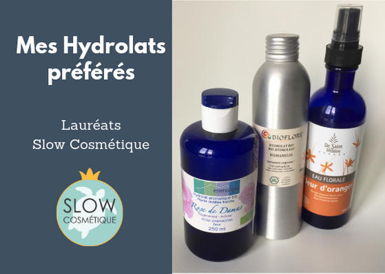 hydrolats slow cosmetique