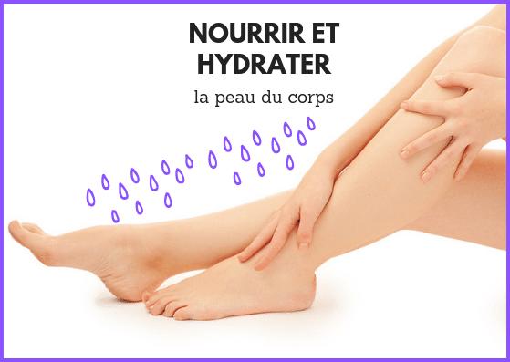 introduction aux soins corps hydratant en été