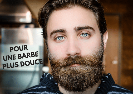 Barbe fournie mais douce au naturel