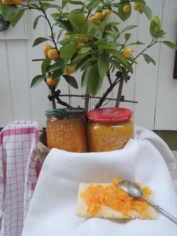 confiture d'orange maison