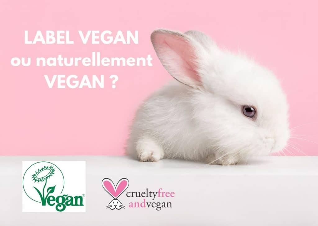 cosmetique certifiee vegan label vegan