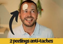 Taches pigmentaires : 2 peelings visage faciles !